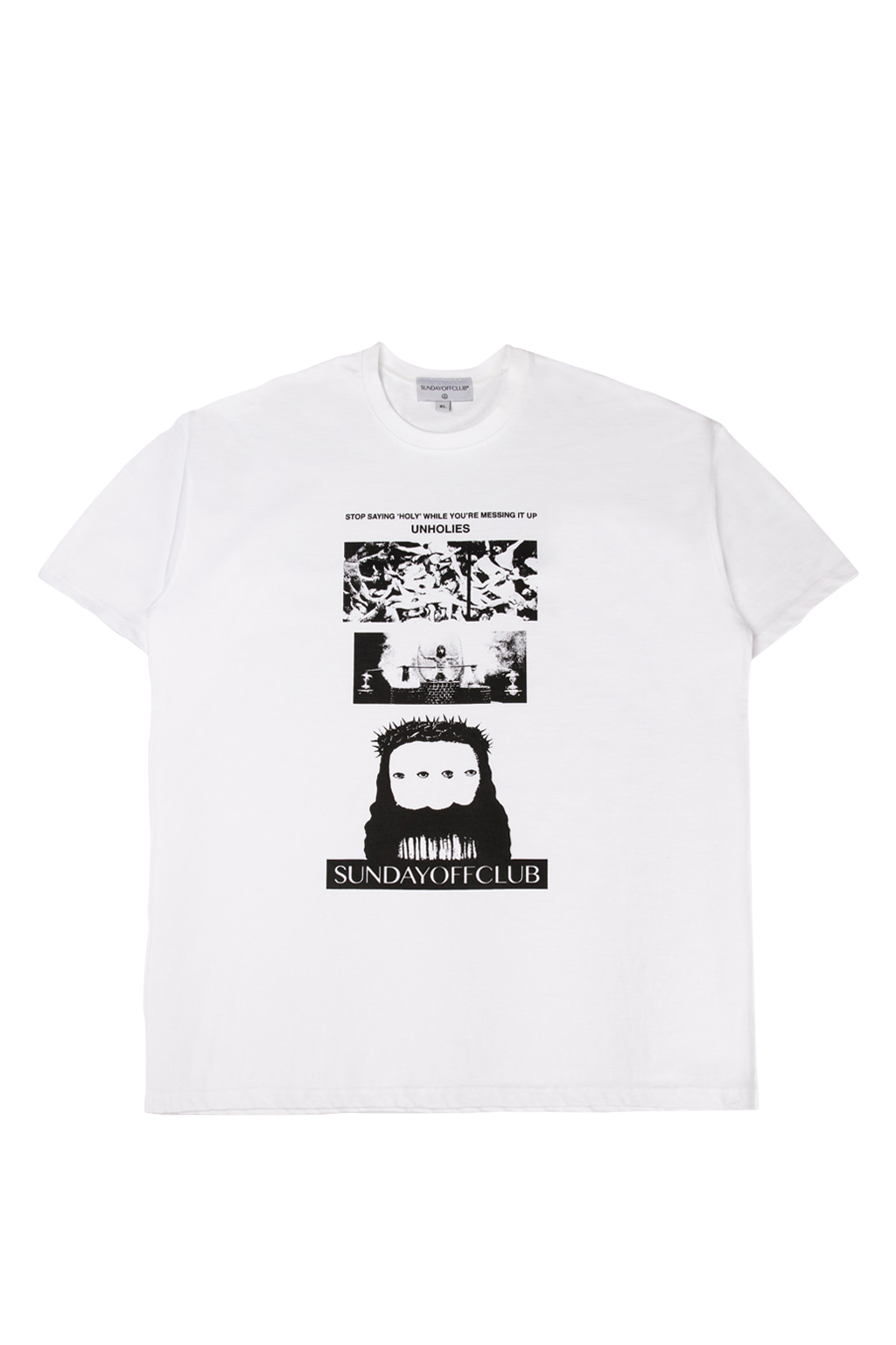 holy t-shirts - white