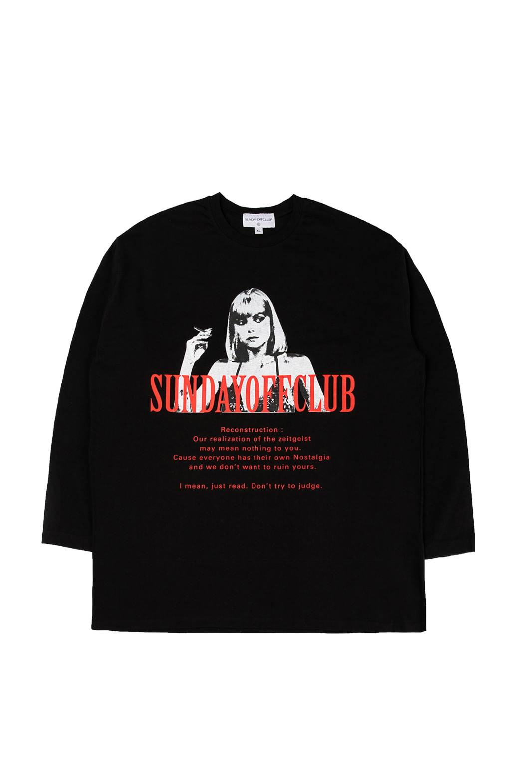 elvira long sleeve t-shirts - black