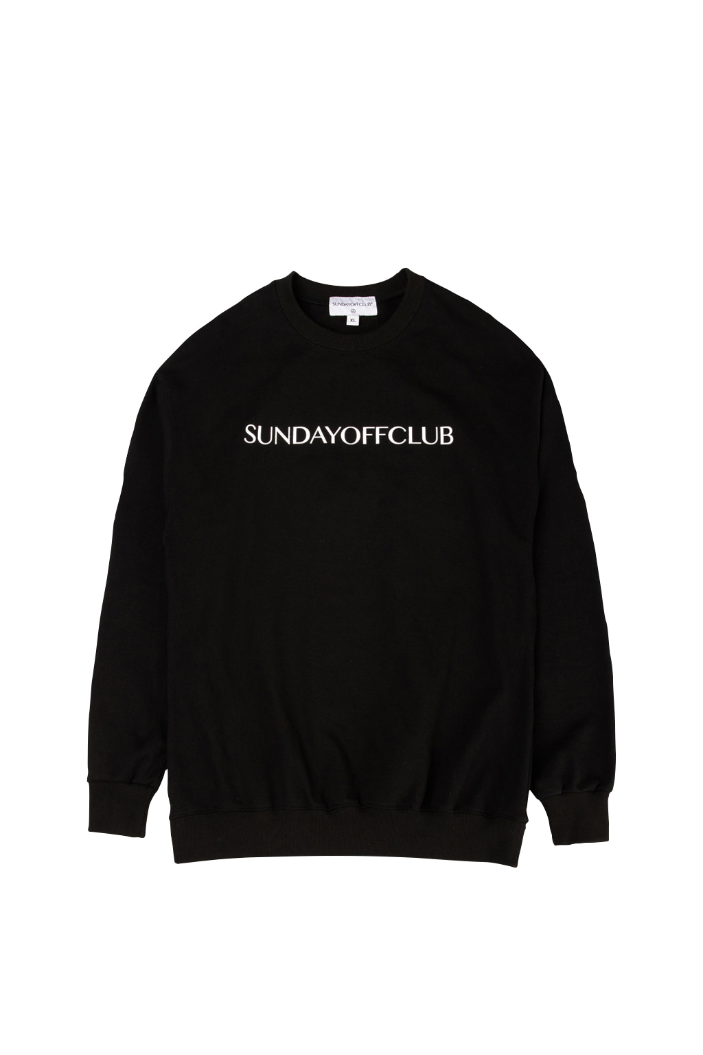 soc og logo crewneck - black