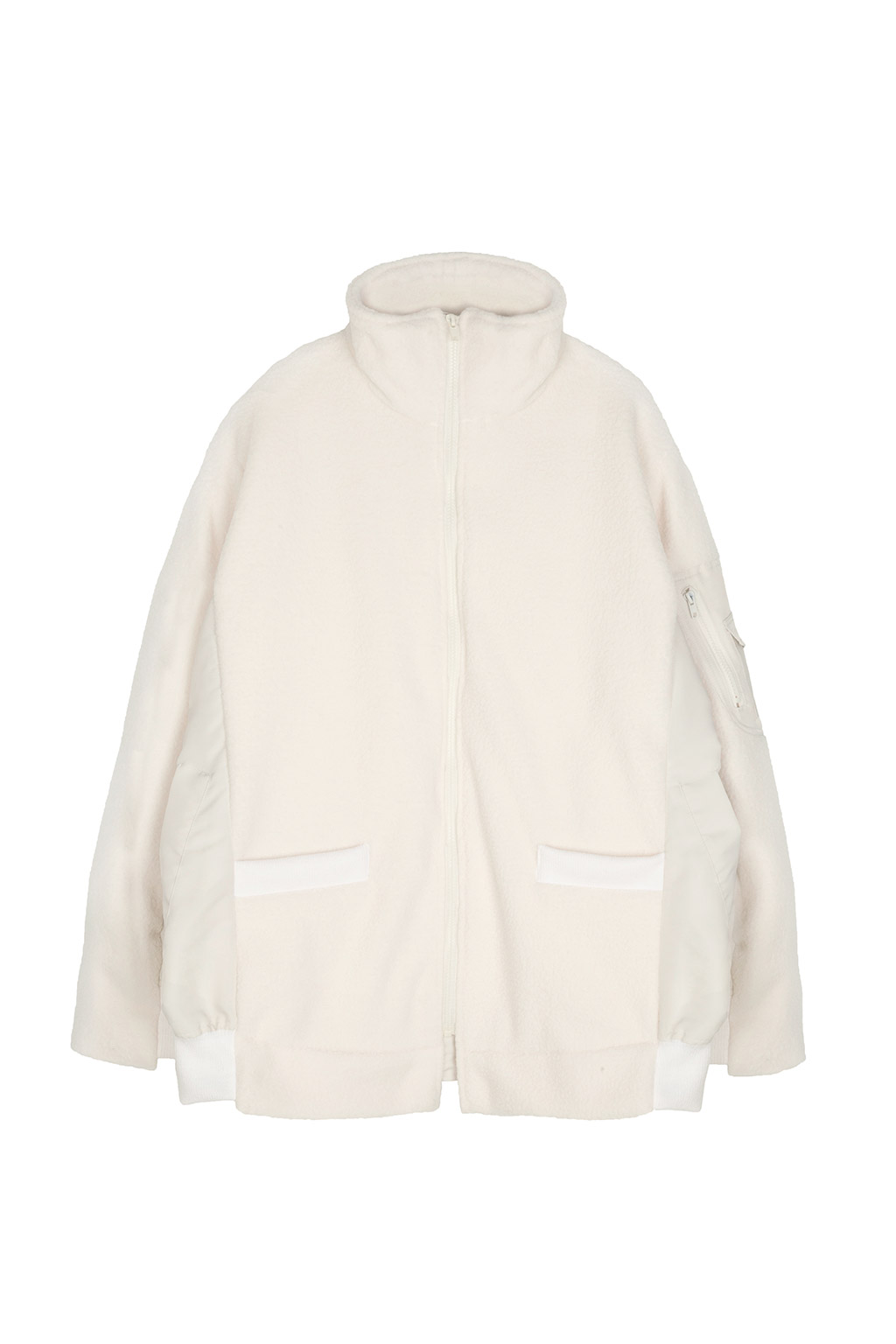 fleece docking ma-1 - ivory