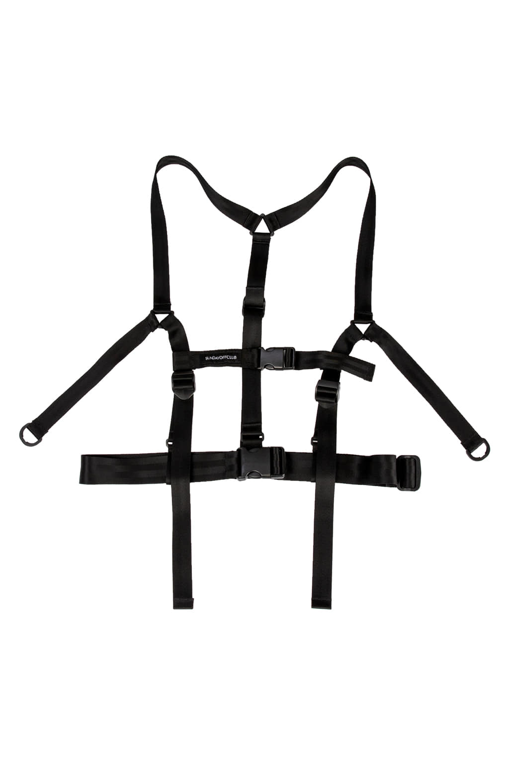 Webbing harness belt