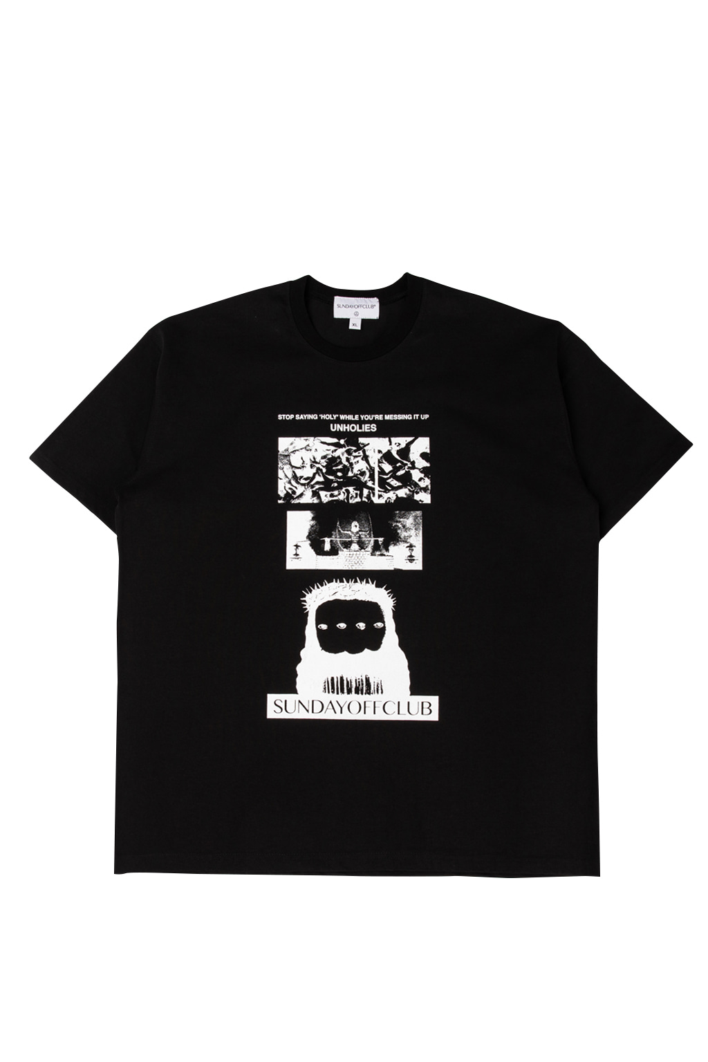 holy t-shirts - black