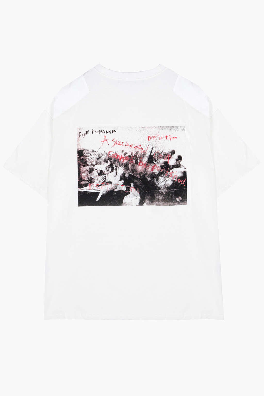 Crayon Graffiti T-shirt - white