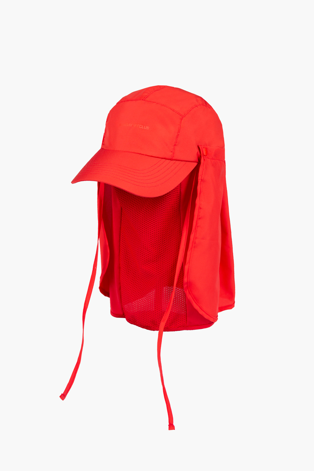 3-in-1 Desert Cap - red
