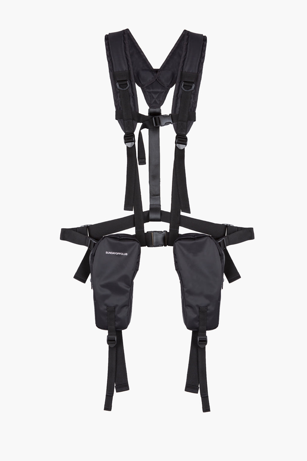 Tactical Utility Bag Waterproof Harness - black