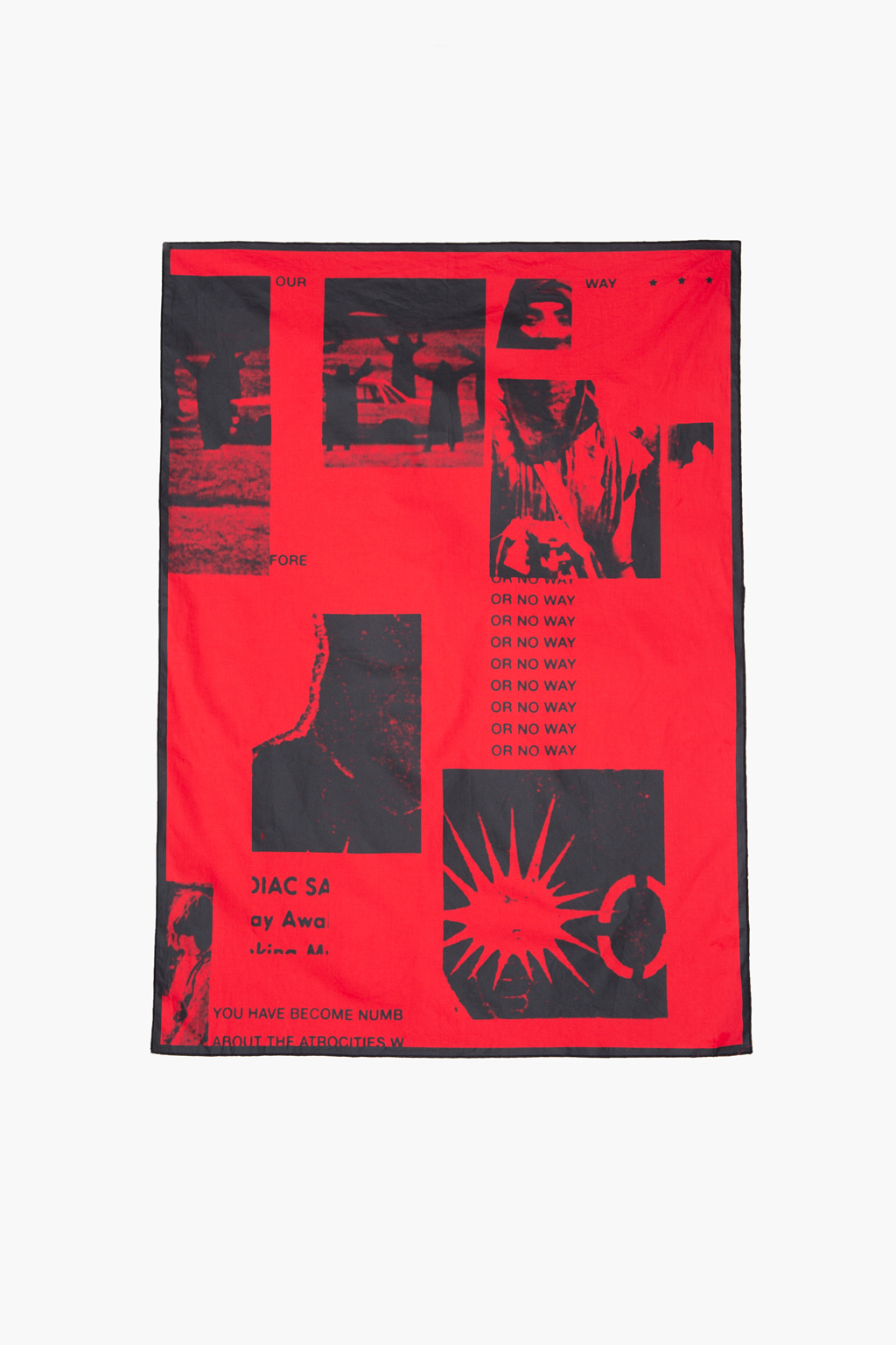 Season Artworks Bandana Scarf - red