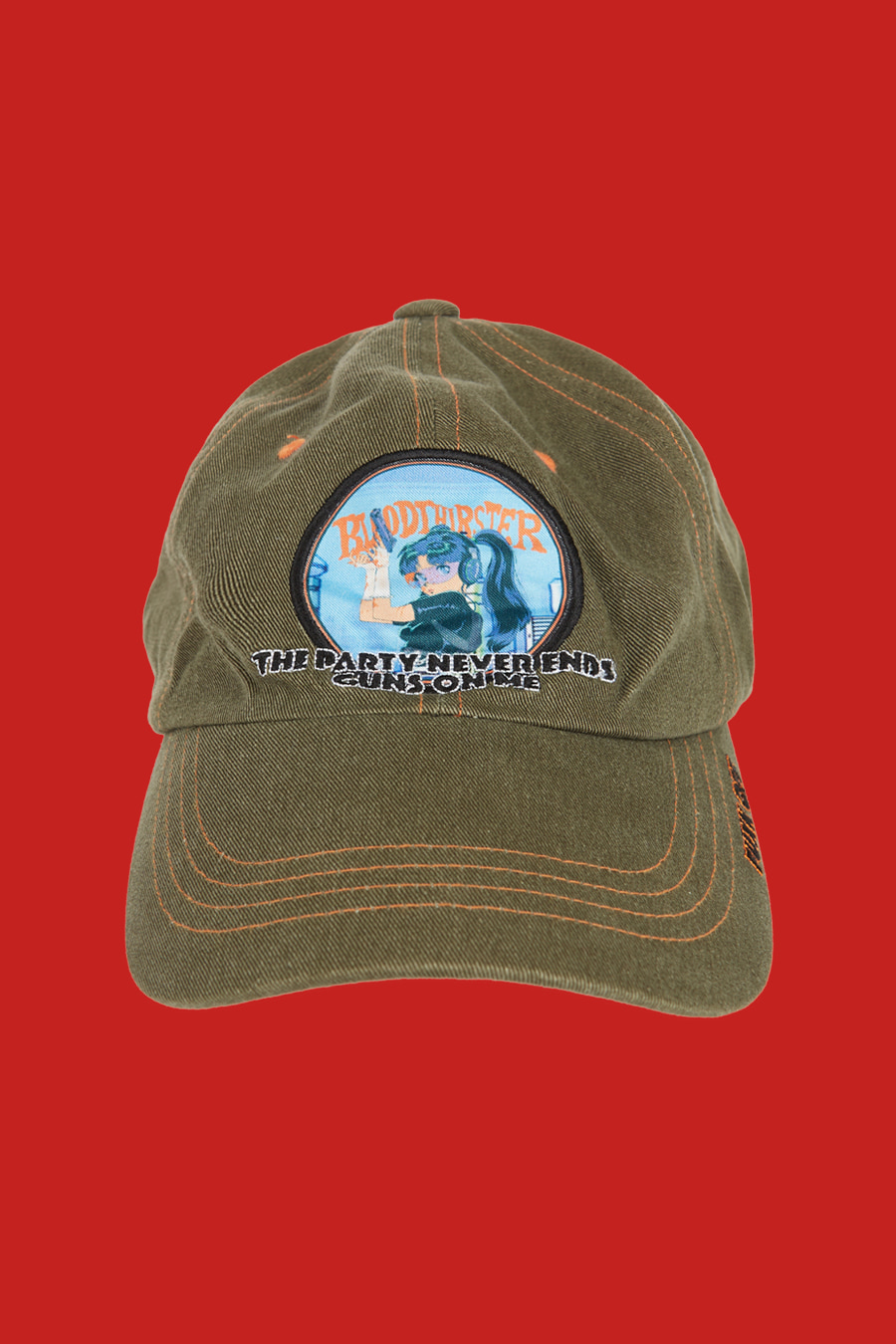 Guns On Me Ball Cap - Loden Green