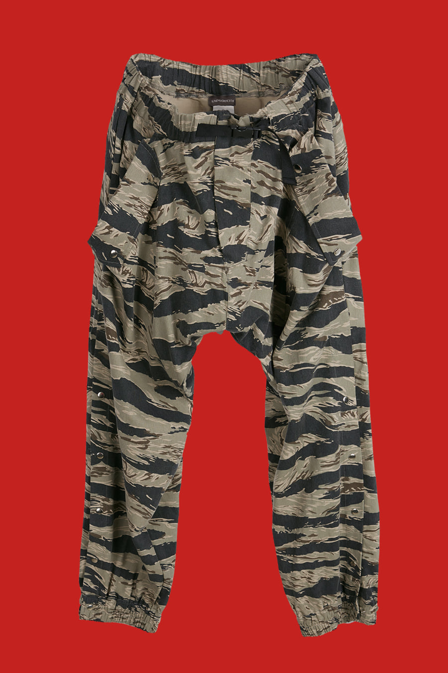 Tiger Camouflage Lounge Pants - Loden Green