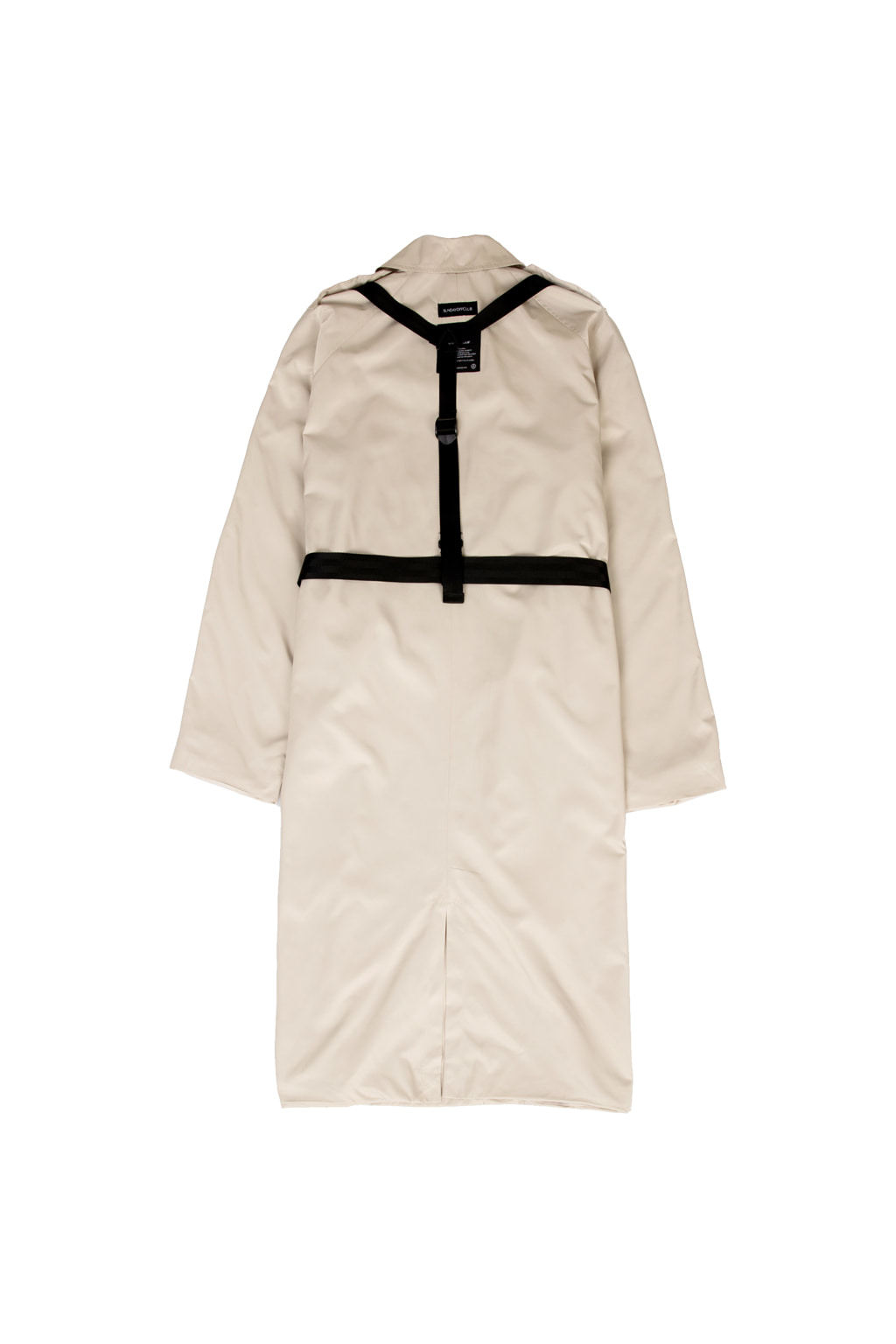 harness trench coat - beige