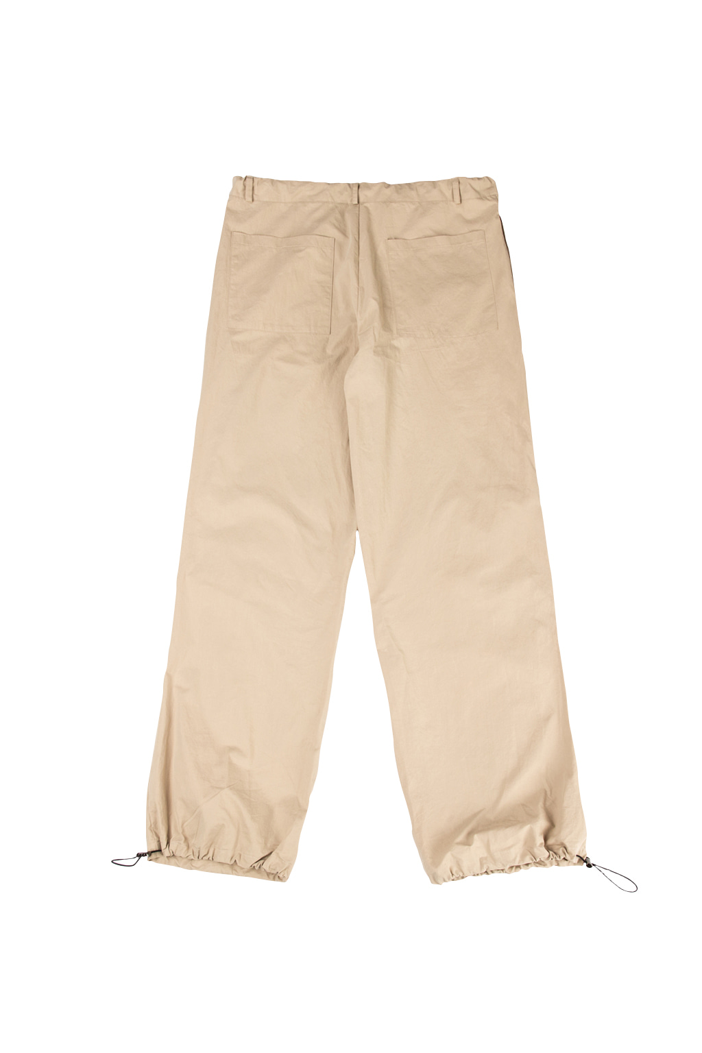 string tactical trousers - beige