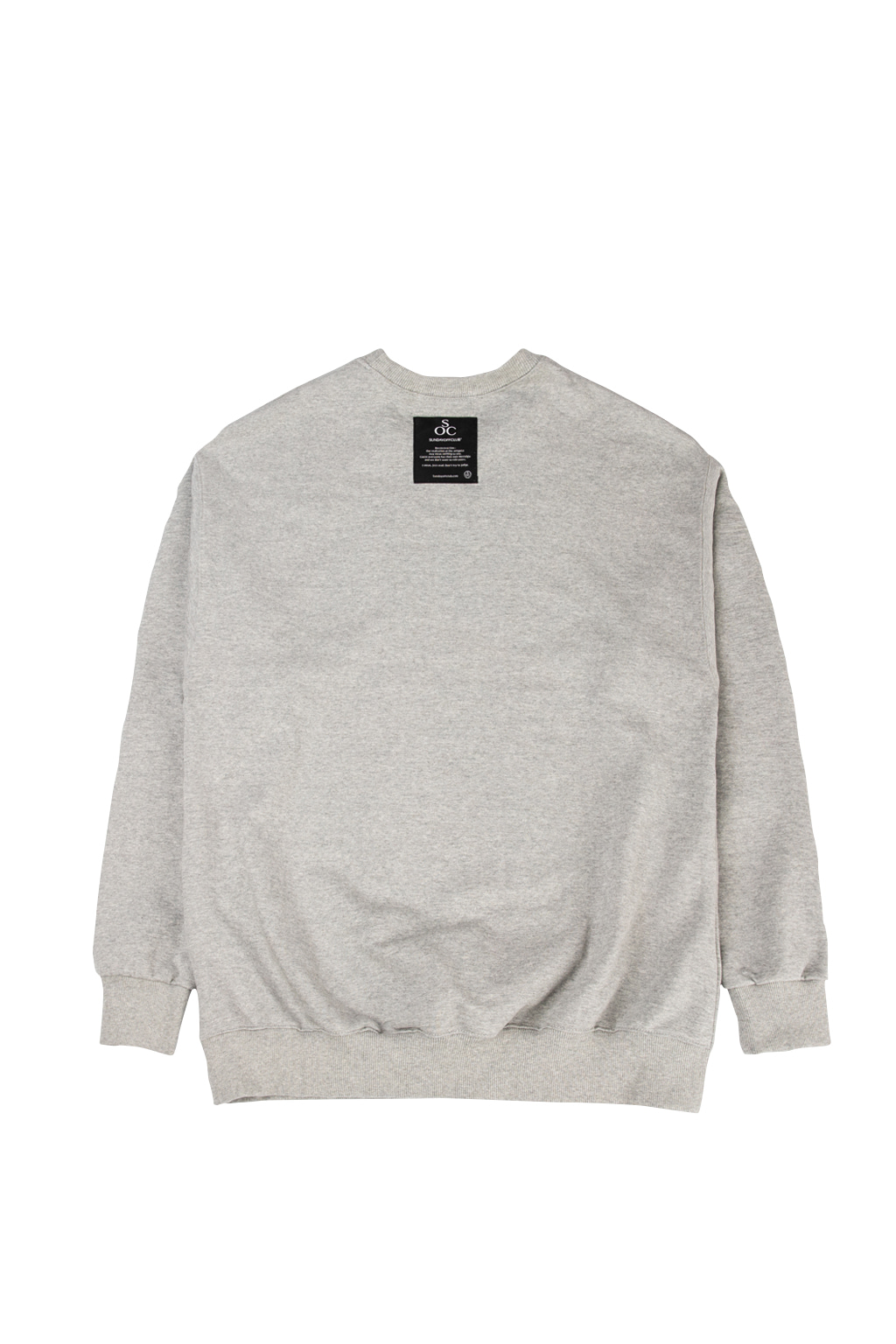 soc og logo crewneck - gray