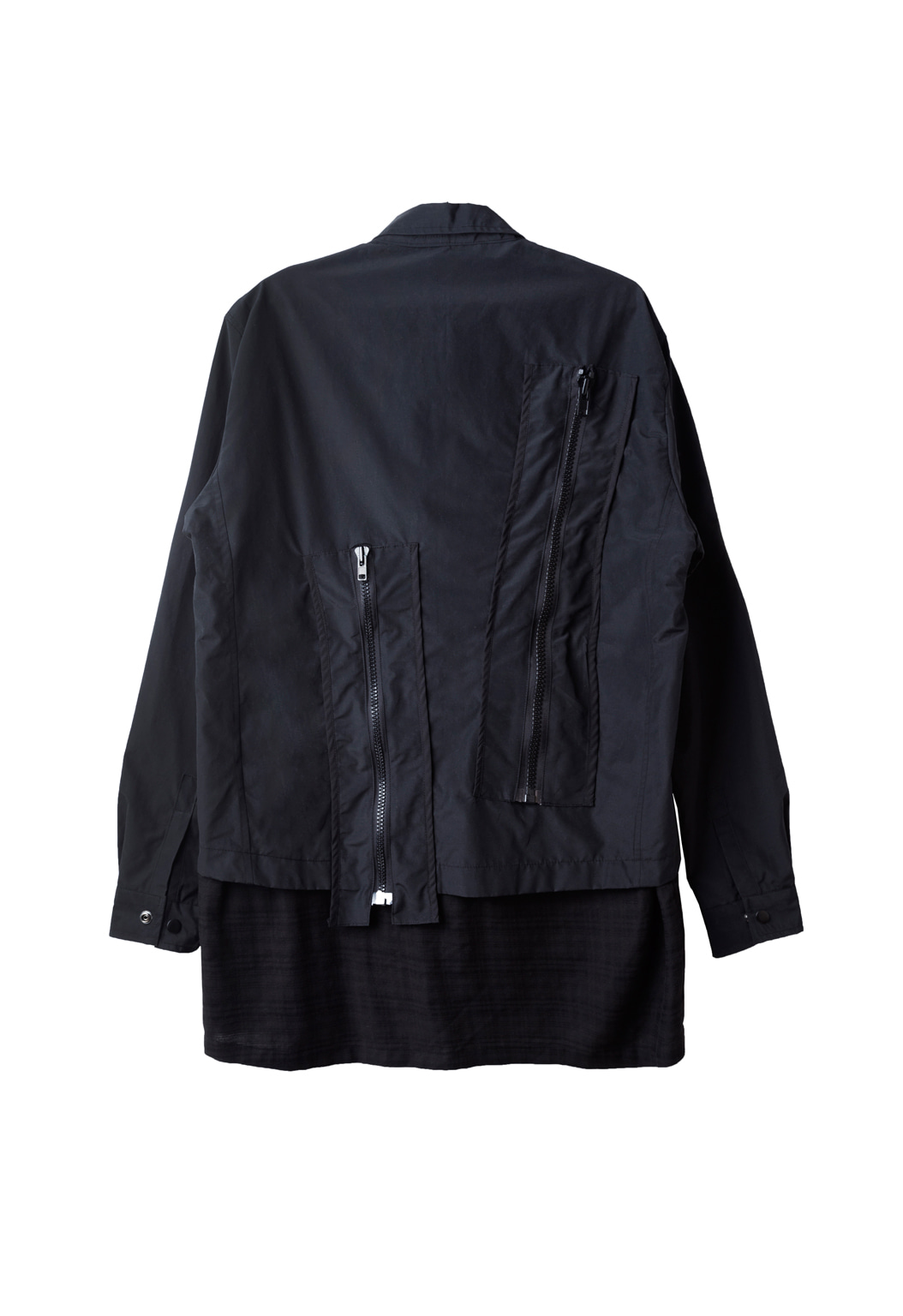 zipper shirts jacket