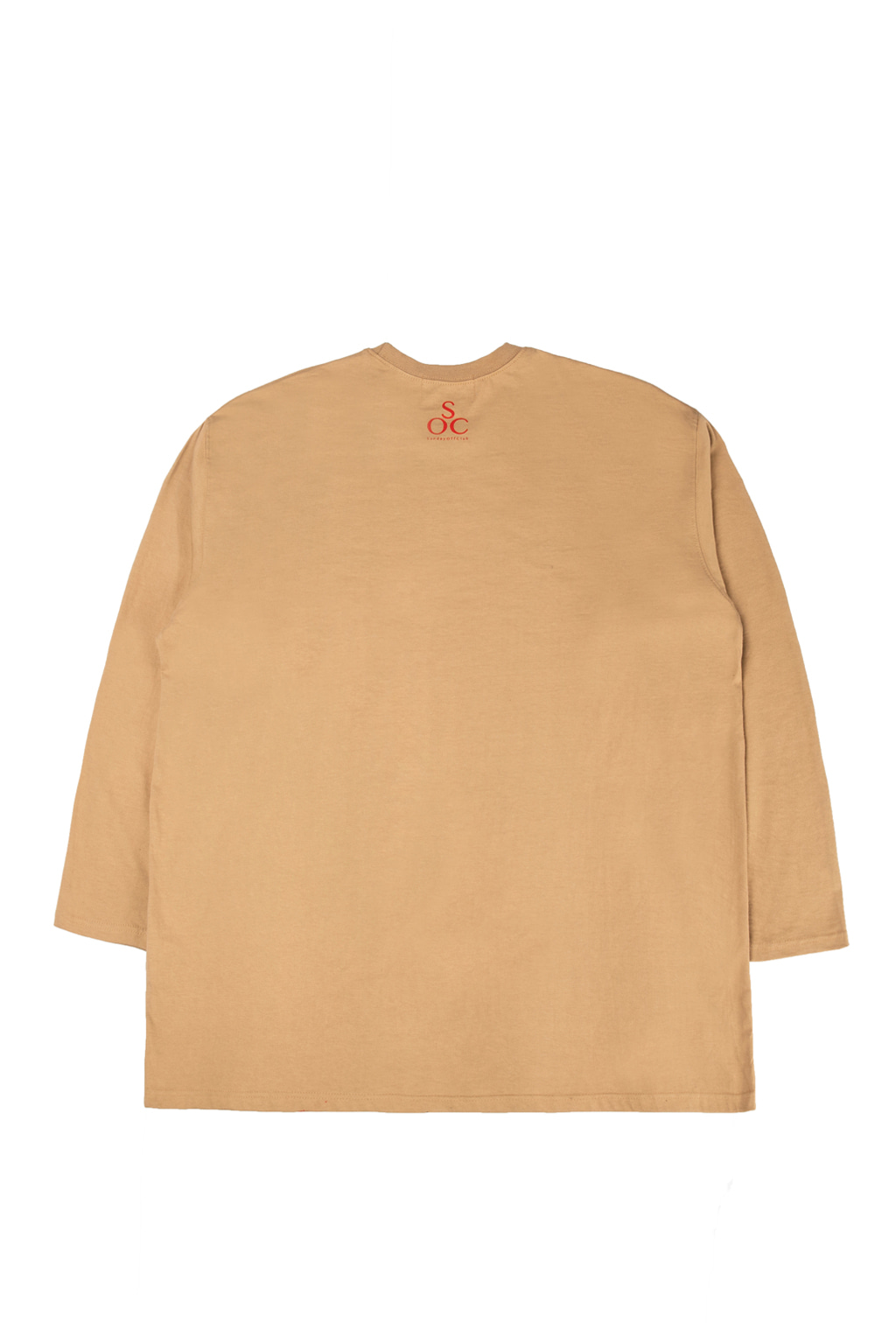 elvira long sleeve t-shirts - beige
