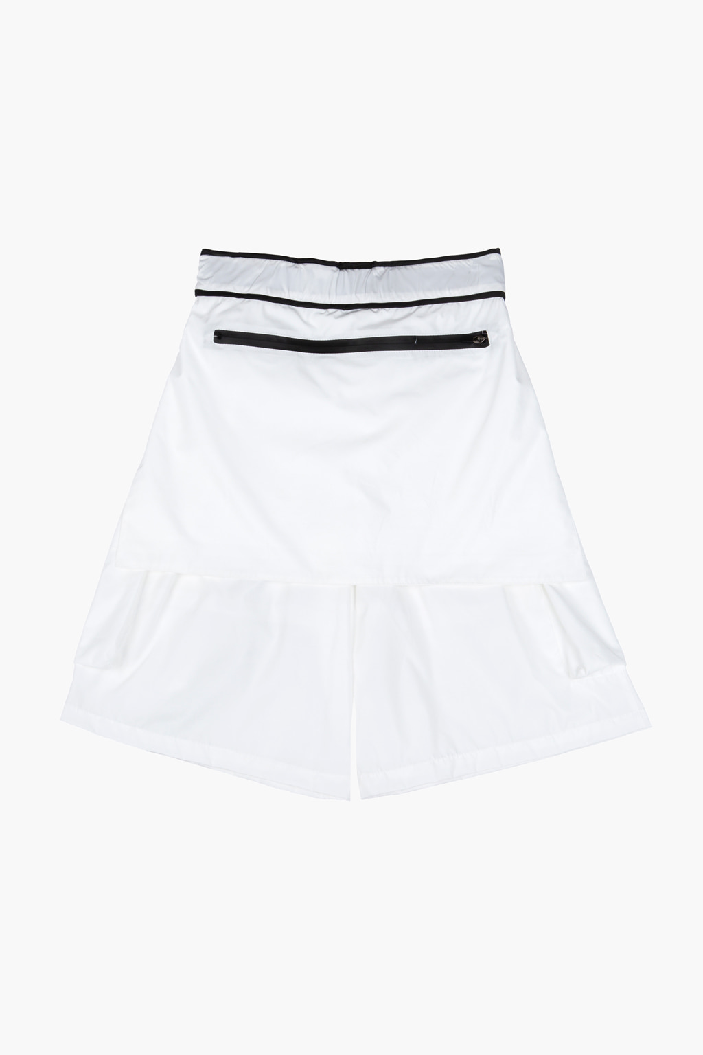 Obi Belt Detail Cargo Pocket Shorts - white