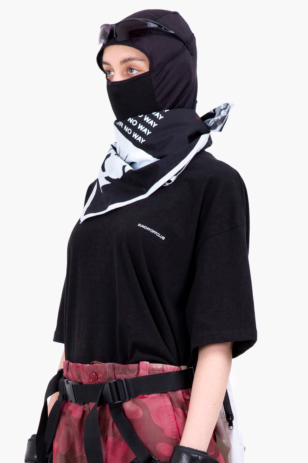 Season Artworks Bandana Scarf - black